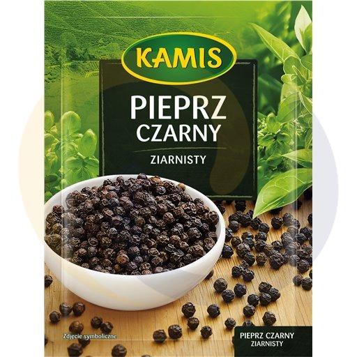 Kamis suchy Pieprz czarny ziarnisty 20g/20szt Kamis kod:5900080000000