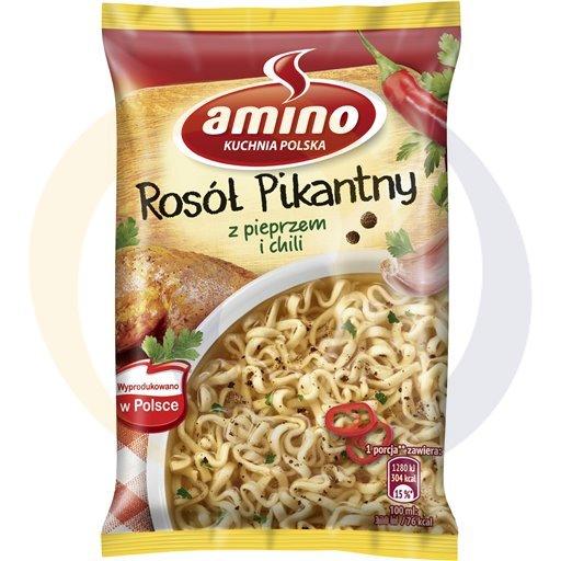 Amino Zupa  bł.ros.pik.z ku. z pie.z chil. 58g/22s  kod:8711200000000